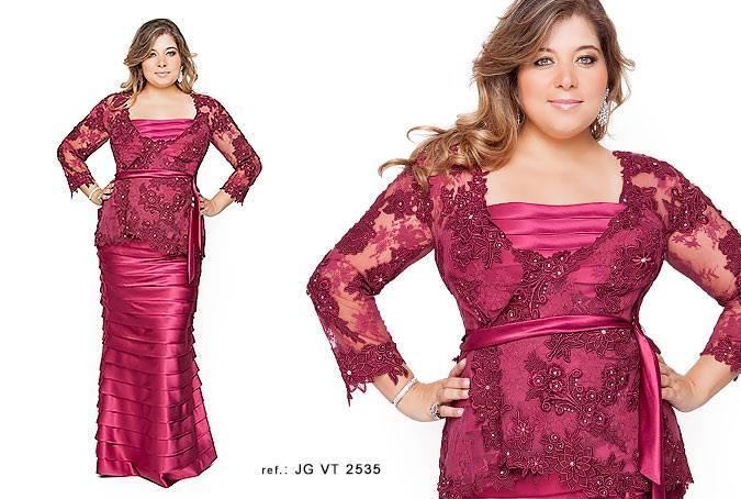 vestido de festa plus size 2