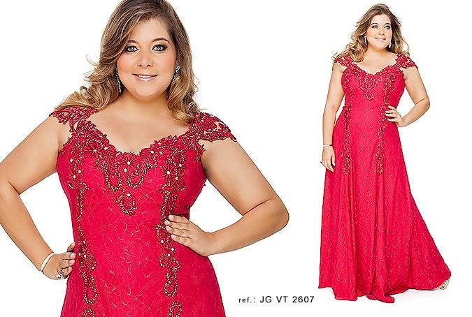 Vestidos de festa plus size da Suely Caliman - Blog Mulherão