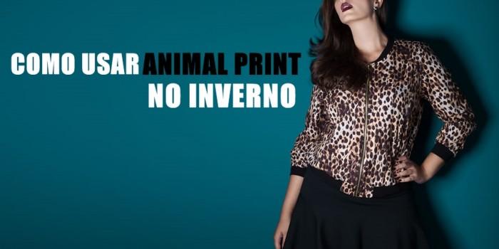 como usar animal print no inverno