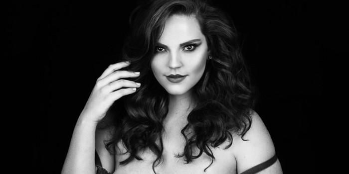 Raphaella Tratsk Lancini modelo plus size 1