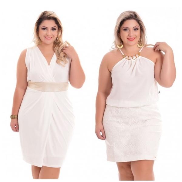 vestido branco plus size 2