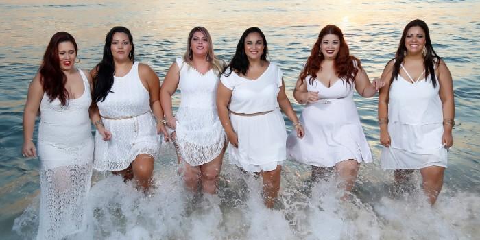 vestido branco plus size gordinhas ano novo
