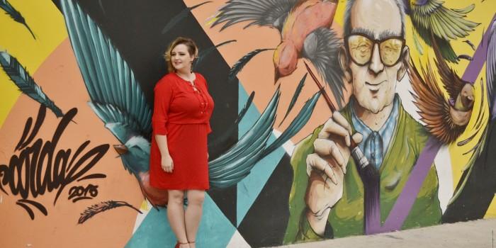 vestido vermelho plus size 8