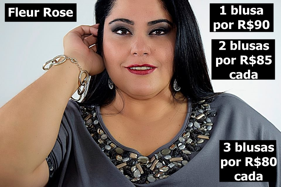 keka fleur rose bazar plus size do blog mulherão