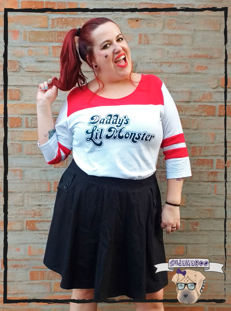 T-SHIRT-LITTLE-MONSTErR-PLUS-SIZE