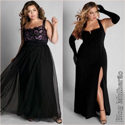 Fotos vestidos de festa para gordas