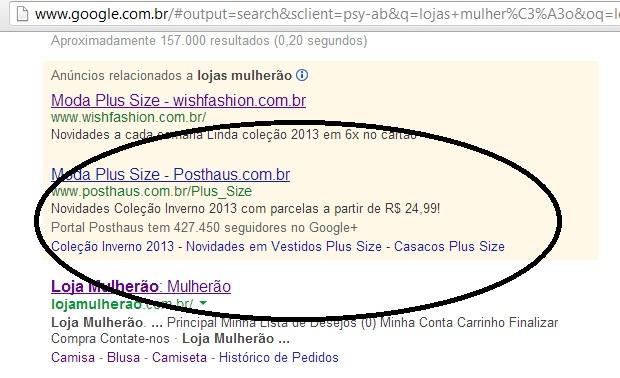 google loja mulherão 3