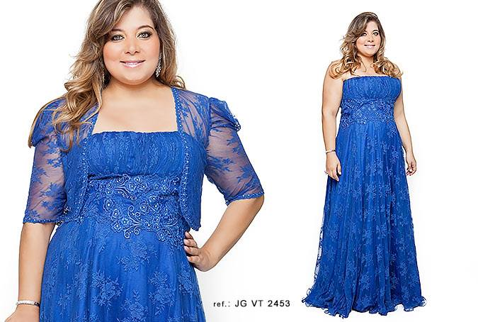 vestido de festa plus size 4