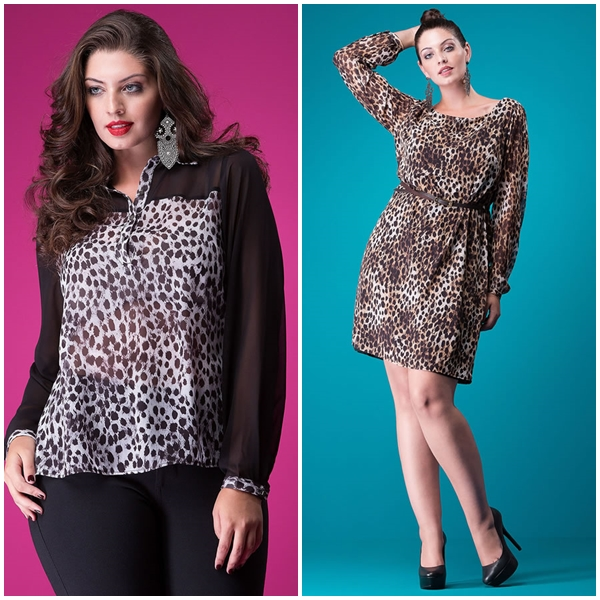 look animal print para jantar fora 20