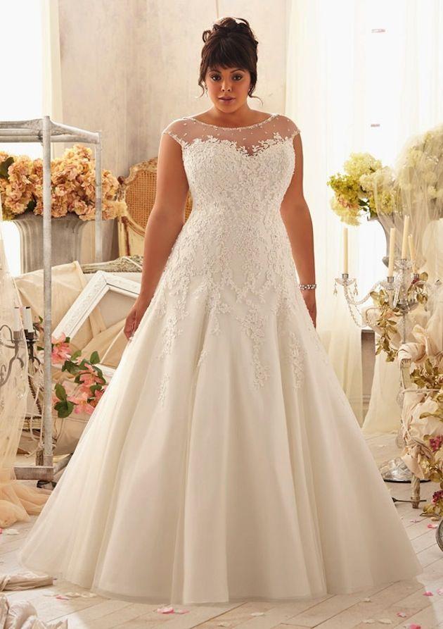 vestido de noiva plus size 3
