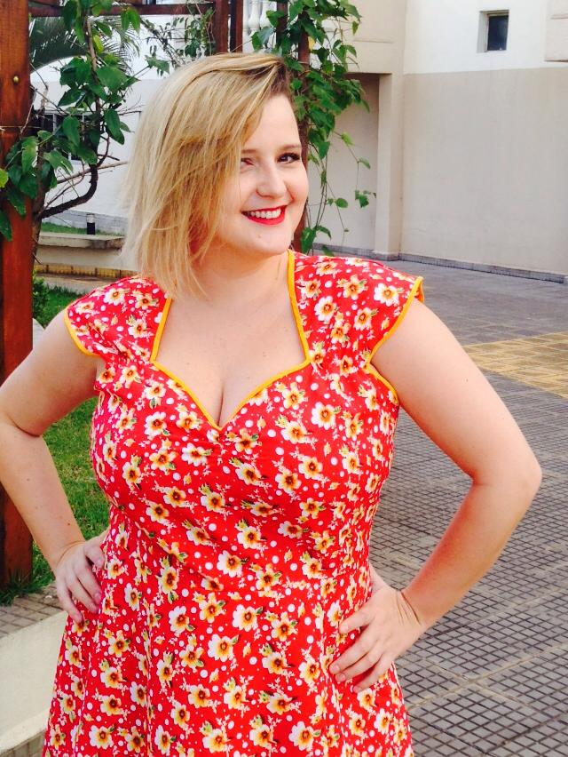 Vestido pin up plus size 2