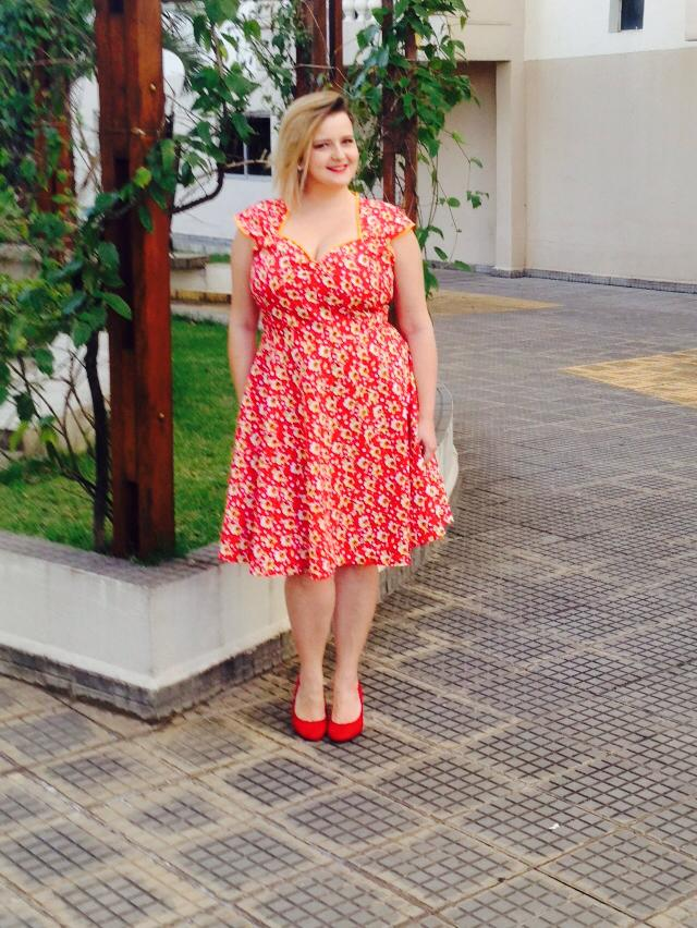 Vestido pin up plus size 3