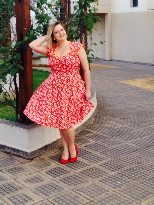 Vestido pin up plus size 4
