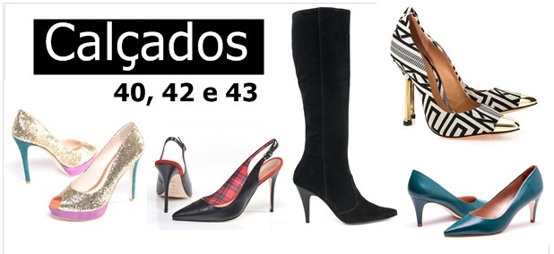 618e8396b8a 20 modelos em tamanhos grandes de sapatos femininos lindos e fashion - Blog  Mulherão