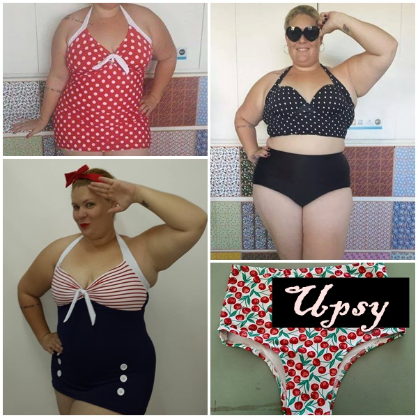 moda praia pin-up plus size