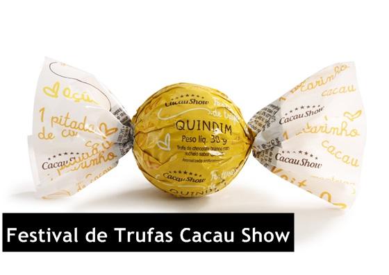 Festival de Trufas Cacau Show