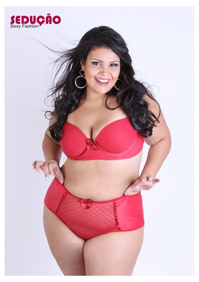 lingerie para gordinha 1