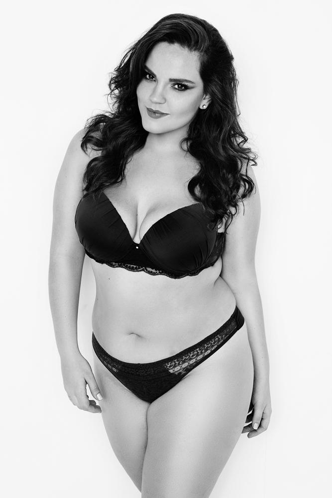Raphaella Tratsk Lancini modelo plus size 2