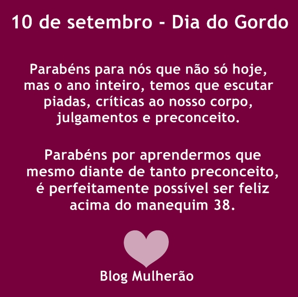 dia do gordo