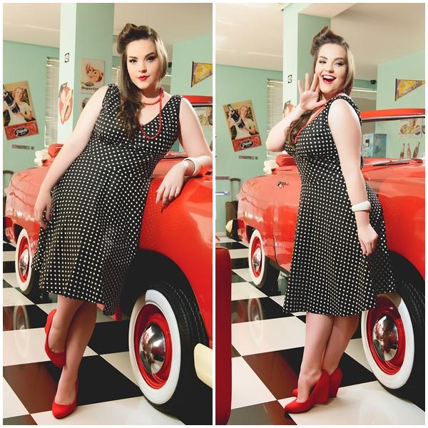 roupa anos 50 para gordinhas 1