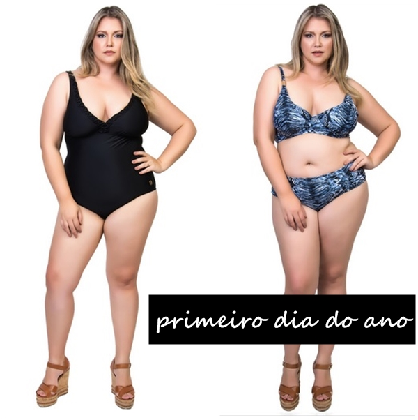 primeiro dia do ano plus size