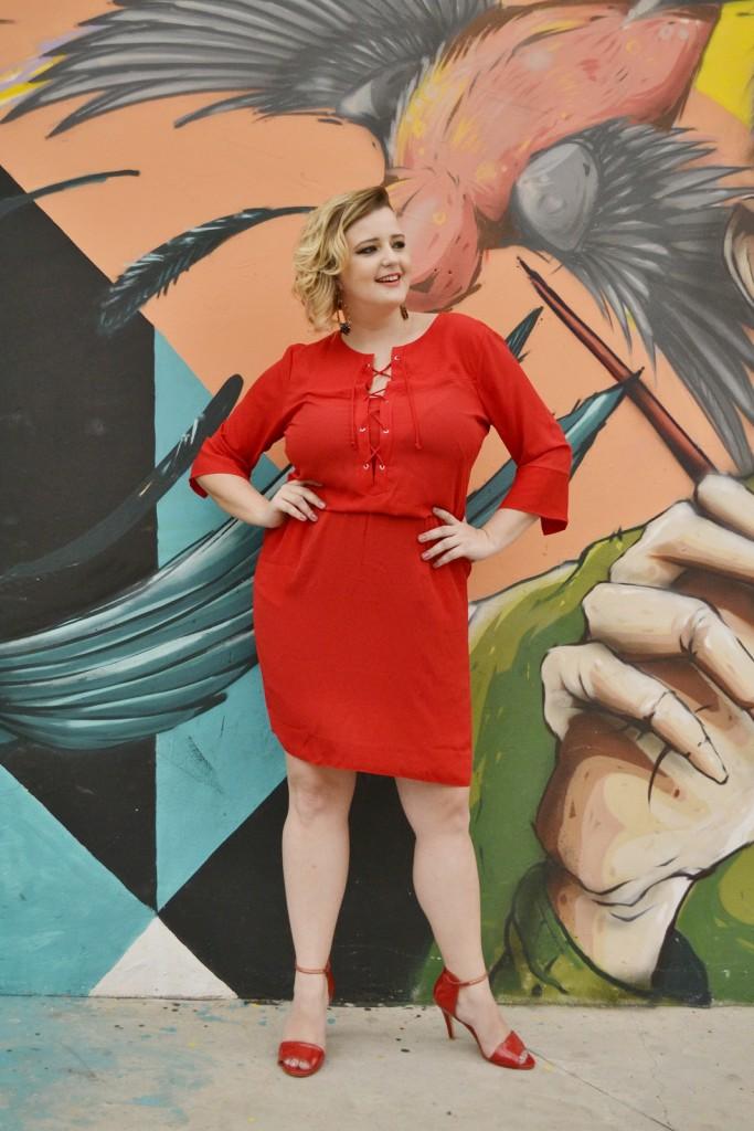vestido vermelho plus size 2