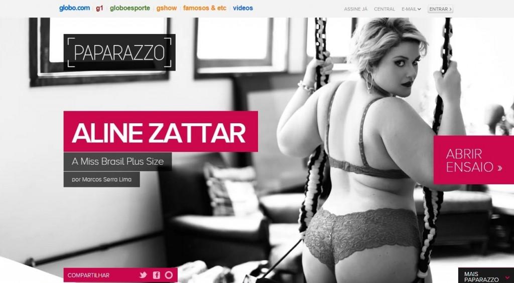 aline zattar + paparazzo