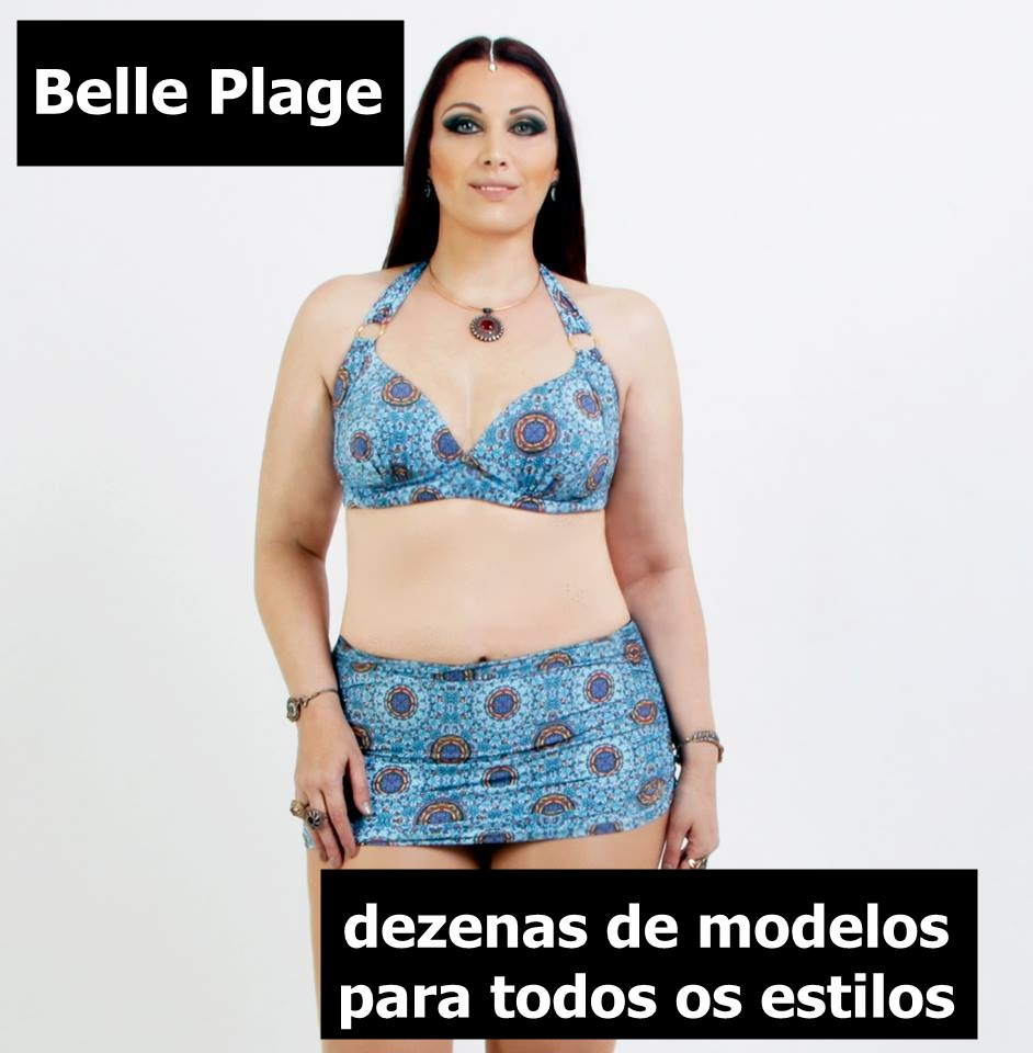 belle plage bazar plus size do blog mulherao