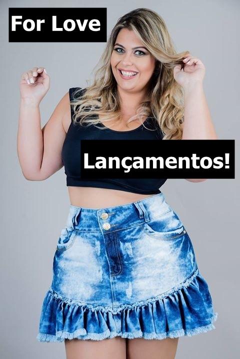 saia jeans plus size bazar blog mulherão