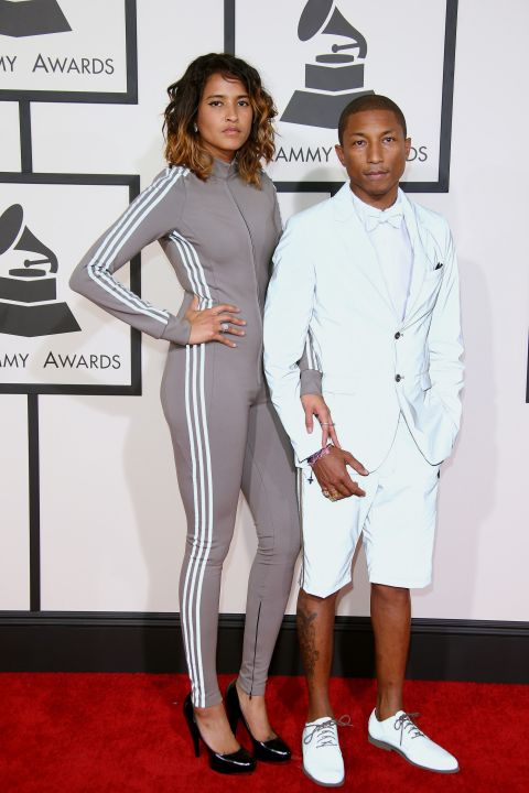 pharrel willians e namorada