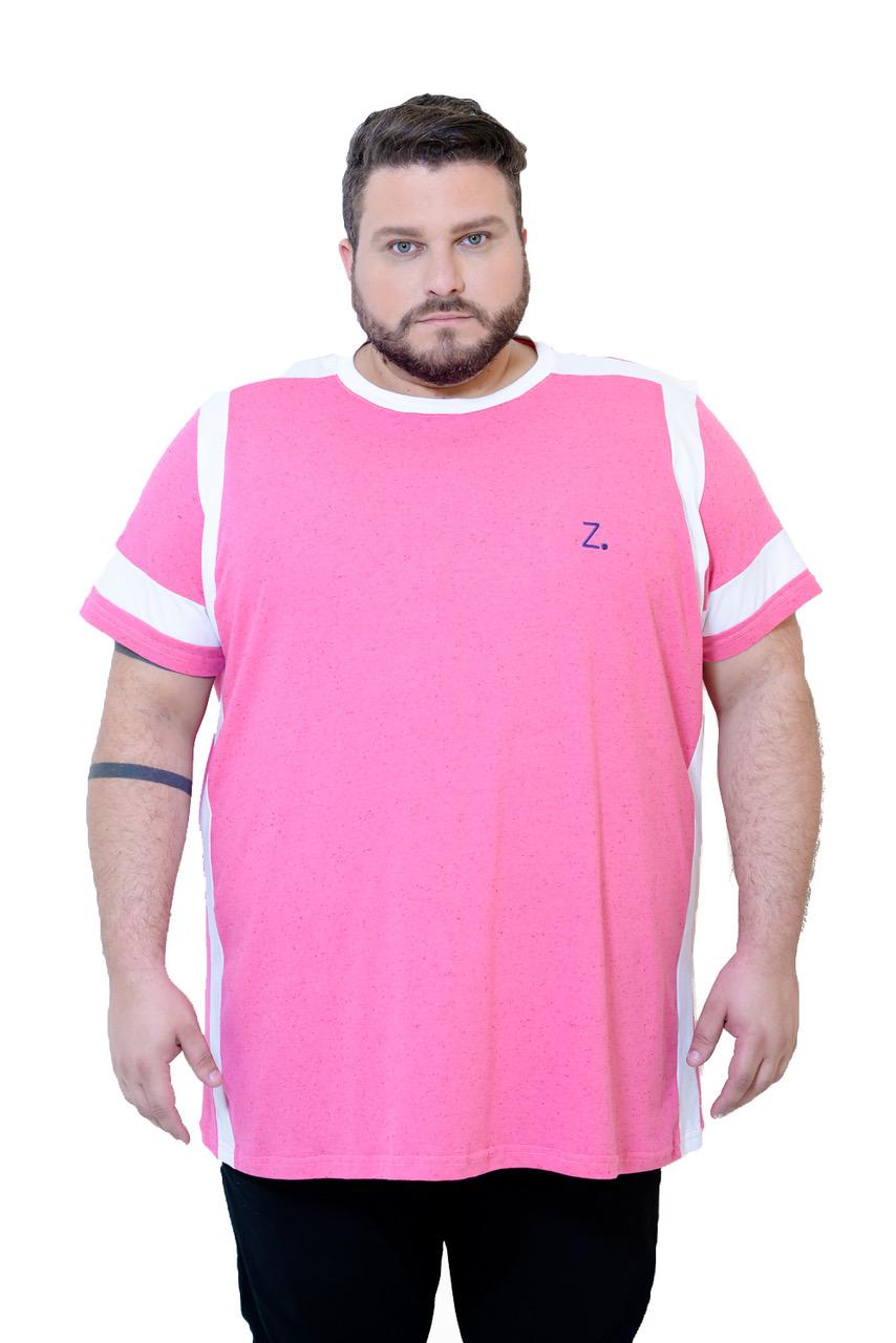 camiseta-plus-size-masculina-rosa-cazaco