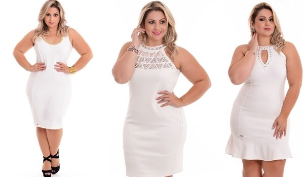 7e1f192580 Vestido plus size branco para o Ano Novo - Blog Mulherão